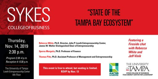 State of the Tampa Bay Entrepreneurial Ecosystem