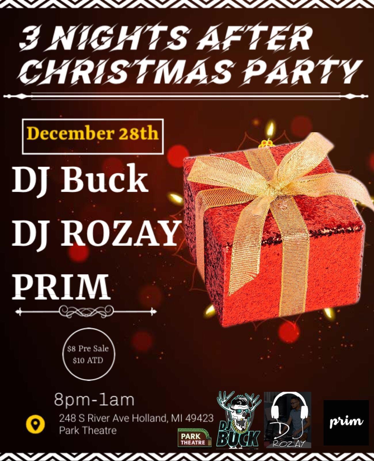 DJ Buck, DJ Rozay and PRIM