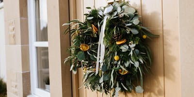 Christmas Wreath Workshop with Amy Annand Flowers