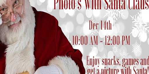 Santa Claus - Photos with Santa (Sponsored by The Steinick Group)