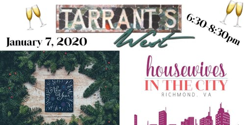 Richmond Housewives in the City Girls Night out at Terrant's West