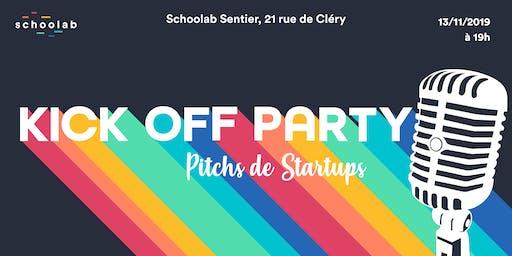 Kick Off Party - Pitch de nouvelles startups !