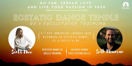Ecstatic Dance Temple DJ & Facilitator Training - Spain 2020 tickets