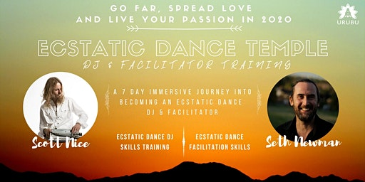 Ecstatic Dance Temple DJ & Facilitator Training - Spain 2020