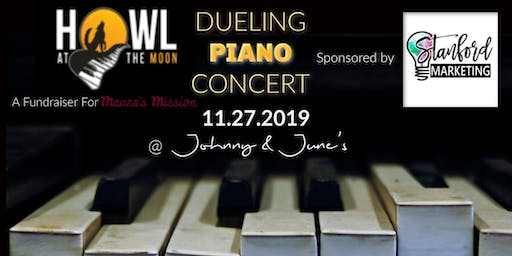 Stanford Marketing presents Howl at the Moon Dueling Pianos