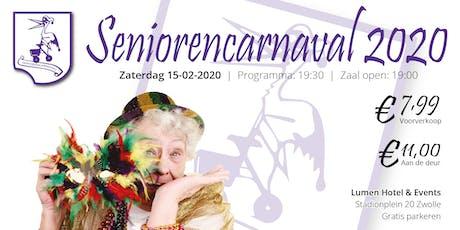 Seniorencarnaval 2020 tickets