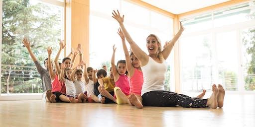 Curso de Profesor de Yoga para Niños Cadiz (Tarifa)