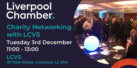 Charity Networking with LCVS tickets