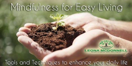 Mindfulness for Easy Living Introduction Workshop