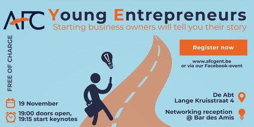 AFC Ghent presents: YOUNG ENTREPRENEURS