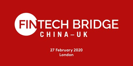 FINTECH Bridge China-UK Conference 2020 tickets