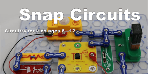 Snap Circuits at the FHPL Maker Space