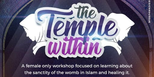 DERBY  -The Temple Within - Womb Workshop