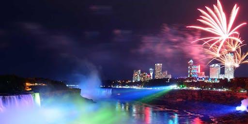 Niagara Falls NY Winter Festival of Lights & Fireworks