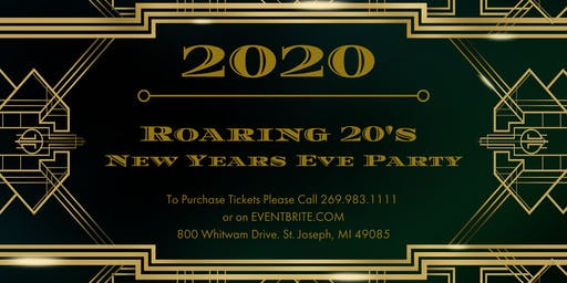 Roaring 20's New Year's Eve Party!