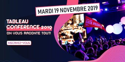 Tableau Conférence 2019 ? ON VOUS RACONTE TOUT ! Nouveautés & Démo live