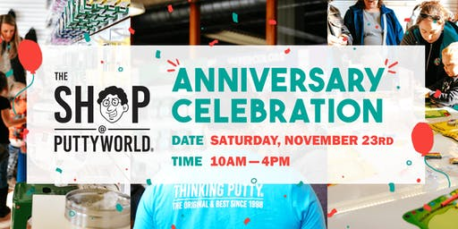 The Shop @ Puttyworld  One Year Anniversary Party