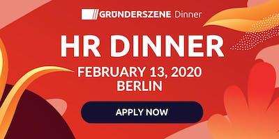 Gründerszene HR Dinner - 13.02.2020
