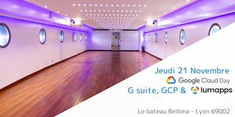 Journée Google Cloud @ Lyon, France billets