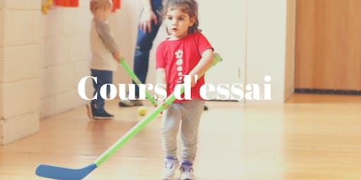 Cours d'essai Sportball à Sainte-Dorothée