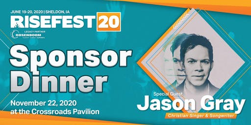 RiseFest 2020 Sponsor Dinner