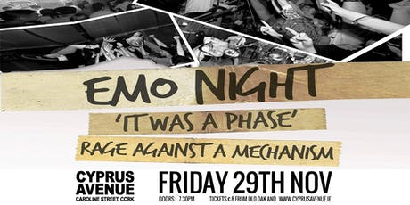EMO tribute night:   It Was A Phase tickets
