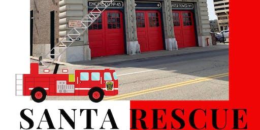 Cincinnati Fire Museum Santa Rescue