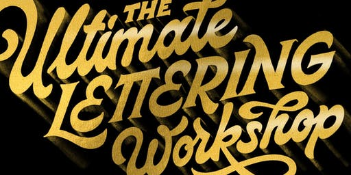 The Ultimate Lettering Workshop NYC - SATURDAY