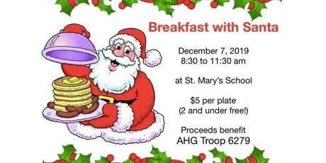 Pancake Breakfast with Santa tickets