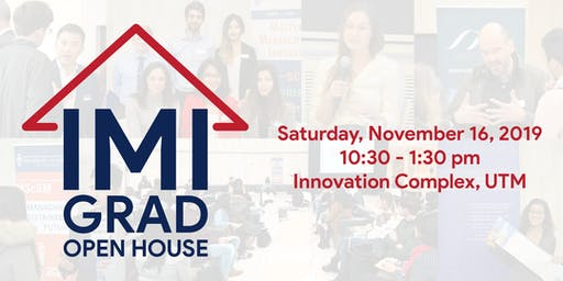 IMI Grad Open House
