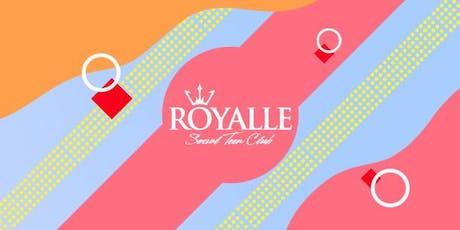 DE FERIAS NA ROYALLE - DJ PIU e DJ ALEX JOKER @ Royalle SP ingressos