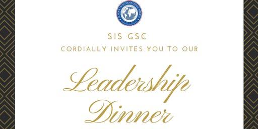 SIS GSC Leadership Dinner