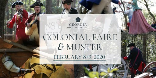 2020 Georgia History Festival: Colonial Faire and Muster