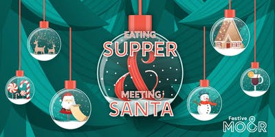 Supper With Santa at The Moor - Wildwoods Coffee and Gift Shop