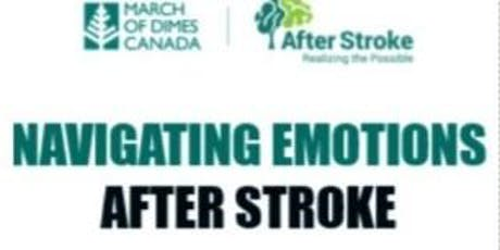 Navigating Emotions After Stroke tickets