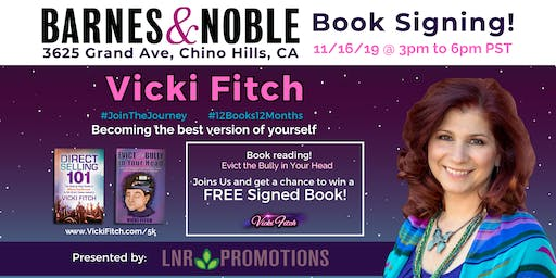3rd Book Signing and Reading at Barnes and Noble Chino Hills