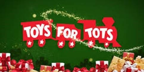 Toys for Tots Happy Hour with Peak UpTime and Mitel