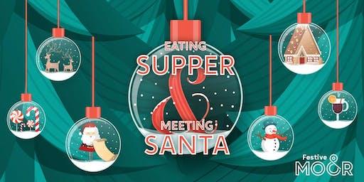 Supper With Santa at The Moor - Debenhams Cafe