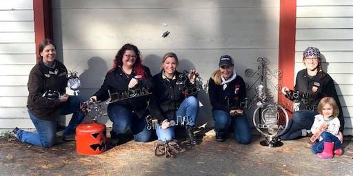 Ladies Holiday MetalArt Workshop