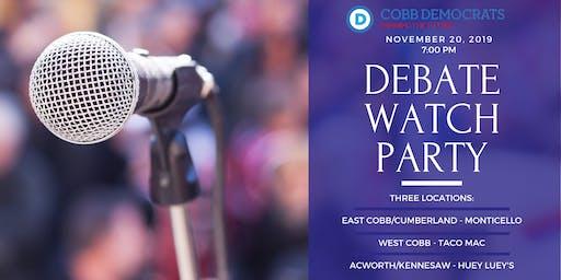 Cobb Debate Watch Parties