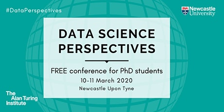 Data Science Perspectives: PhD Conference tickets