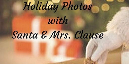 Photos with Santa & Mrs. Clause