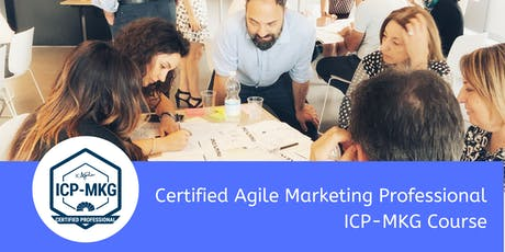 Certified Agile Marketing Professional ICP-MKG Training Course - London tickets