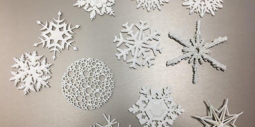 3D Printing Snowflake Ornaments
