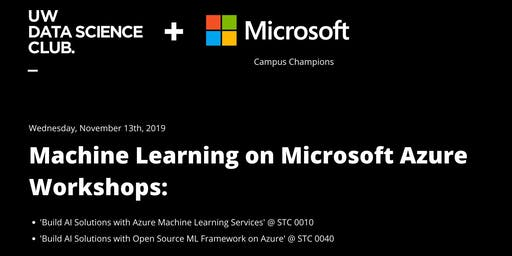 UWDSC x Microsoft: Machine Learning on Azure Workshop