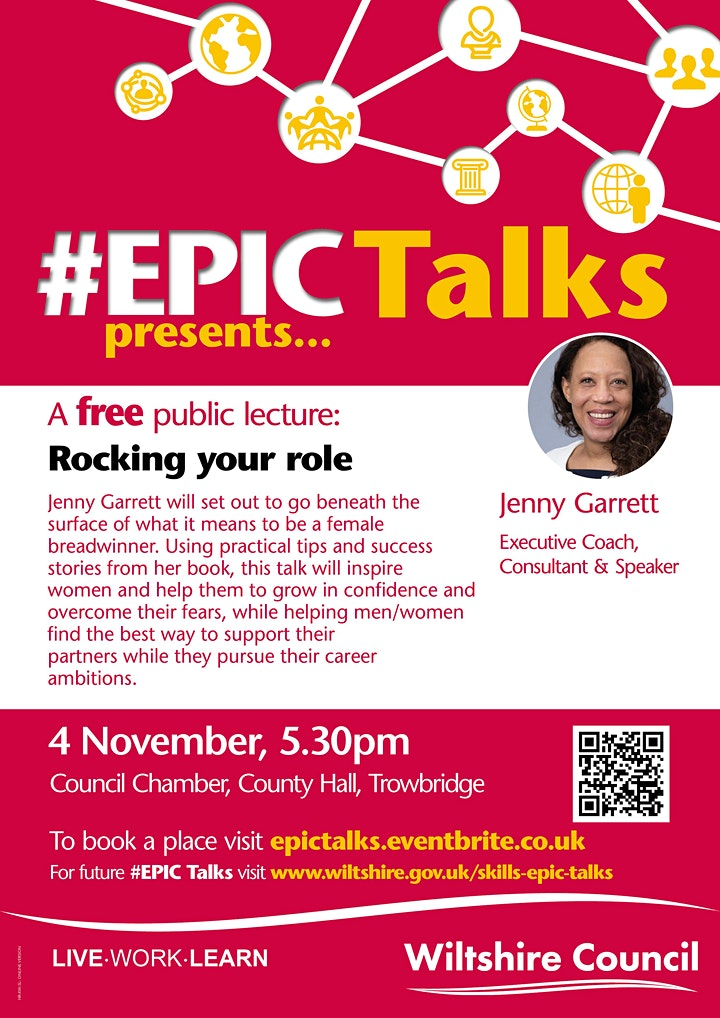 #EPIC Talks presents 'Rocking your role' by Jenny Garrett image