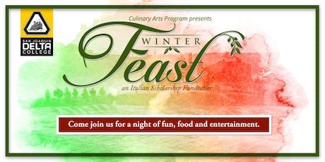 "Delta College Winter Feast ""Italian Scholarship Fundraiser"" tickets"