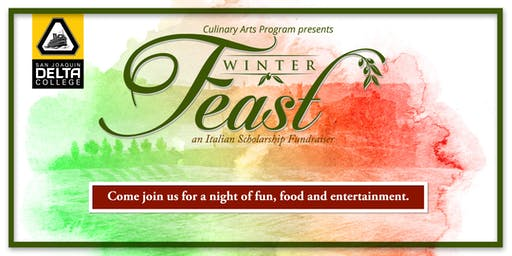 "Delta College Winter Feast ""Italian Scholarship Fundraiser"""