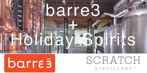 barre3 + Scratch Distillery
