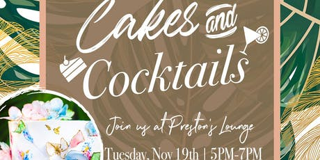 Cakes & Cocktails tickets